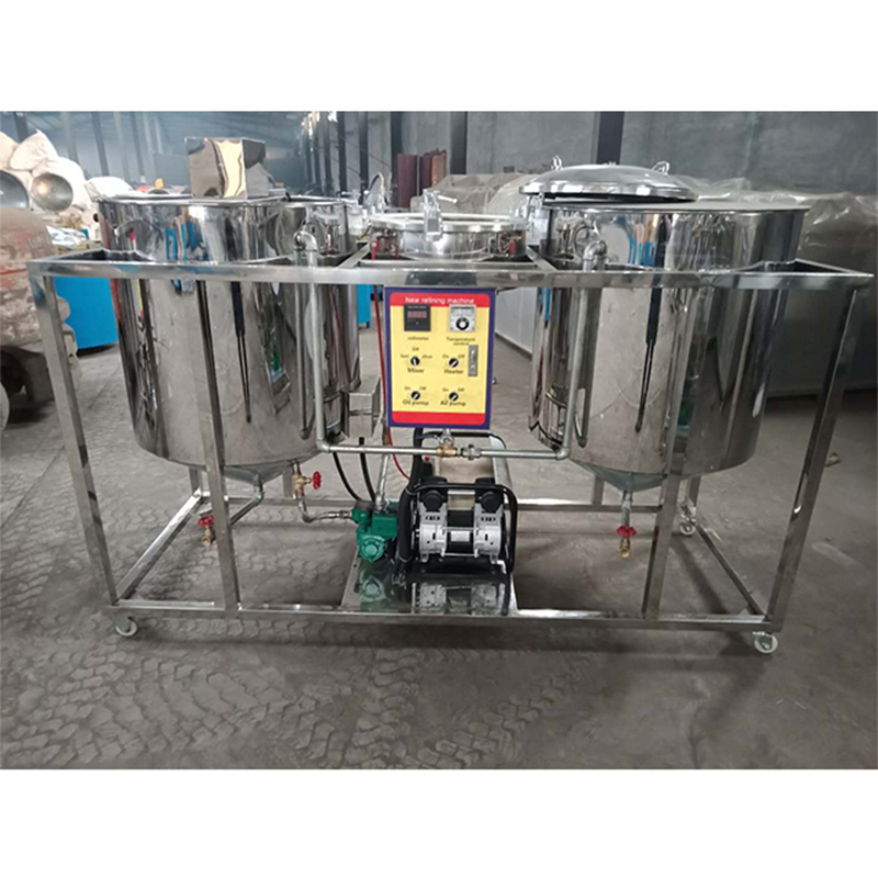 色拉油精炼机 - 色拉油精炼设备