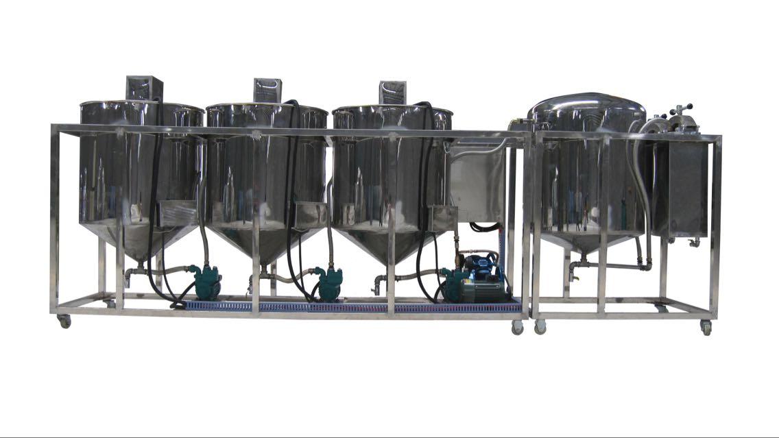 75D小型食用油精炼机 - 小型炼油设备