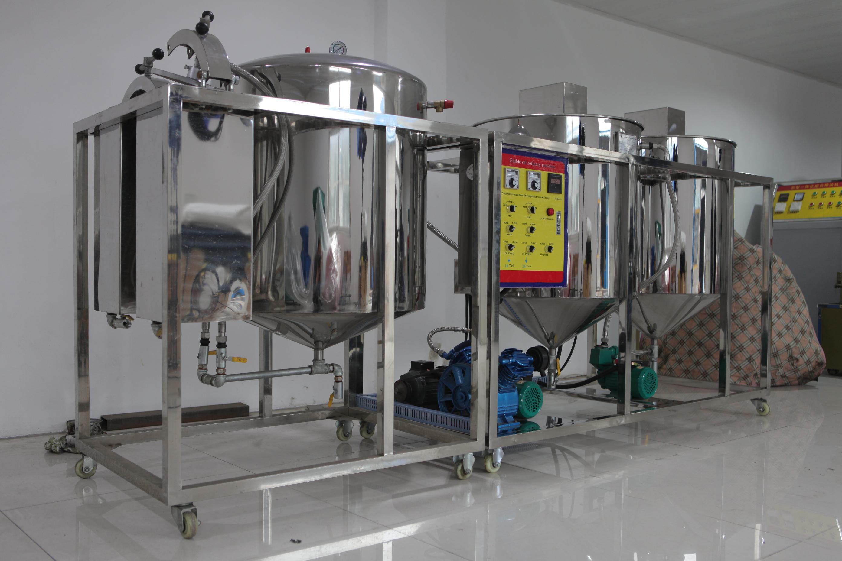 花生油精炼机 - 花生油精炼设备