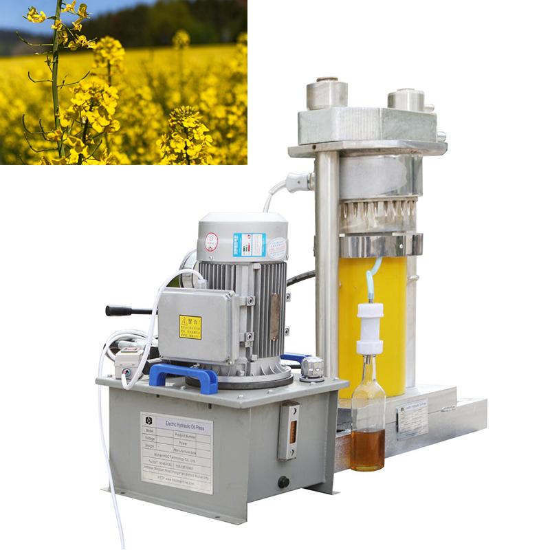 菜籽油立式液压榨油机设备